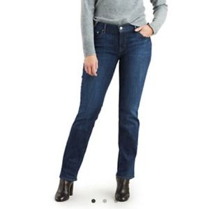 Levi's 505 Straight Leg Jeans Blue Sz 31